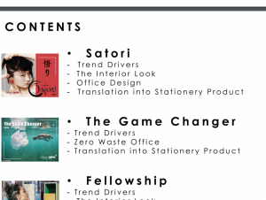 Stationery Trend Report Content